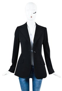 Dolce&Gabbana Dolce Gabbana Virgin Black Jacket