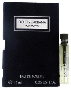 Dolce&Gabbana DOLCE & GABBANA by DOLCE & GABBANA ~ Men's Vial (sample) .06 oz