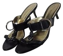 Dolce&Gabbana Womens Solid Black Sandals