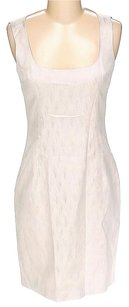 Dolce&Gabbana Textured Signature Shift Sleeveless Dress