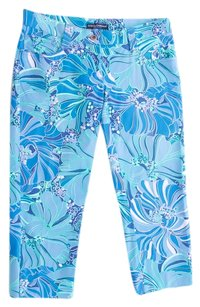 Dolce&Gabbana Unusal Limited Edition Floral Capri/Cropped Pants Multi