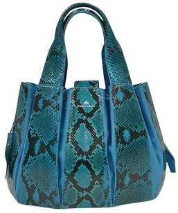 Domenico Vacca Julie Teal Tote in Turquoise