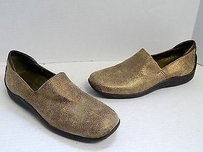 Donald J. Pliner Sport Italy Metallic Driving Loafers Bronze Flats