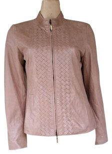Doncaster Leather Shimmer Gold Leather Jacket
