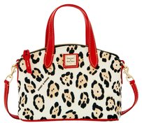 Dooney & Bourke Satchel Handbag Crossbody Stylish Tote in laupard