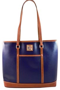 Dooney & Bourke Leather Cynthia Tote in Blue