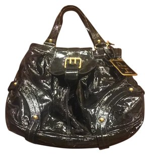 Dooney & Bourke Tote in Black With Gold