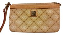 Dooney & Bourke Wristlet in Tan