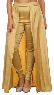 Dorcas Straight Pants Gold