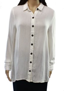 Double Zero 15p316vm Button Down Shirt Top