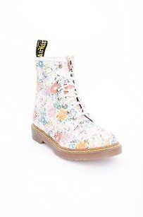 Dr. Martens Kelis Off White 11821 Multi-Color Boots