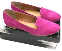 DV by Dolce Vita Loafer Suede Bold Fuchsia Flats
