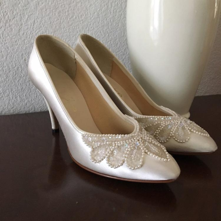 vintage wedding shoes for bride dyeables vintage wedding shoes tradesy 8334