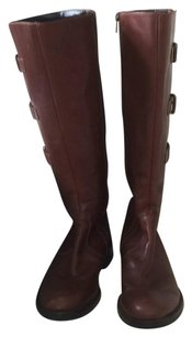 Ecco Tall Leather Brown Boots