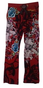 ED HARDY Relaxed Pants Multi