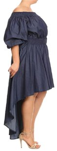 Eiene short dress Blue on Tradesy