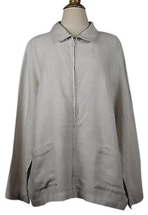 Eileen Fisher Womens Ivory Jacket