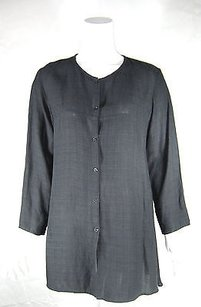 Eileen Fisher Linen Gray Jacket