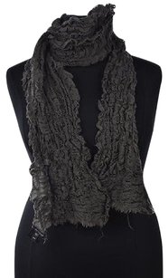 Eileen Fisher Eileen Fisher Womens Gray Scarf Os Textured Wool Casual