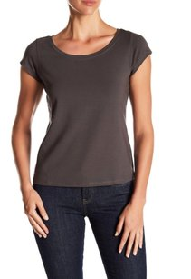 Eileen Fisher Breathable Staple Piece T Shirt NWT Brown