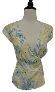 Elevenses By Anthropologie Top Yellow