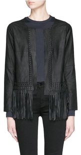 Elizabeth and James Fringe Black Jacket
