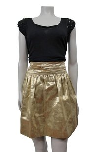 Elizabeth and James Havana Holiday Years Eve Skirt GOLD