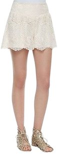 Ella Moss Natural Lace Dress Shorts Ivory