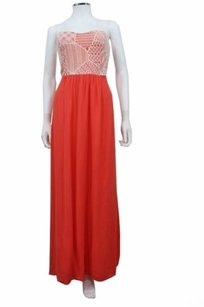 Coral Maxi Dress by Ella Moss Lily Crochet