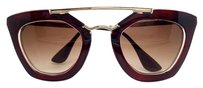 Elle Cross Elle Cross Beaujolais Retro Gold Tone Stainless Steel Sunglasses