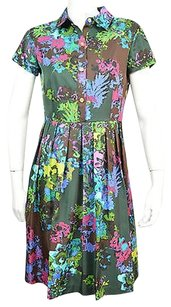 Ellen Tracy short dress Brown Womens on Tradesy