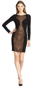 Emilio Pucci Long Sleeve Lace Lace-center Dress