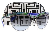 Emilio Pucci Emilio Pucci Sunglasses Women Cat eye EP 0010 10 Multi-color