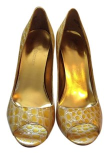 Enzo Angiolini Yellow Pumps