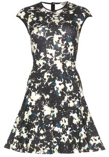 ERDEM short dress Black/Navy/Blue/White Black Navy White Blue on Tradesy