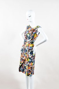 ERDEM Multicolor Floral Dress