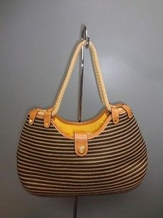 Eric Javits Straw Shoulder Bag
