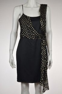 Erin Fetherston Womens Black Dress