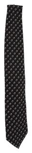 Ermenegildo Zegna Ermenegildo Zegna Men's Black & Multi Color Silk Tie (27920)