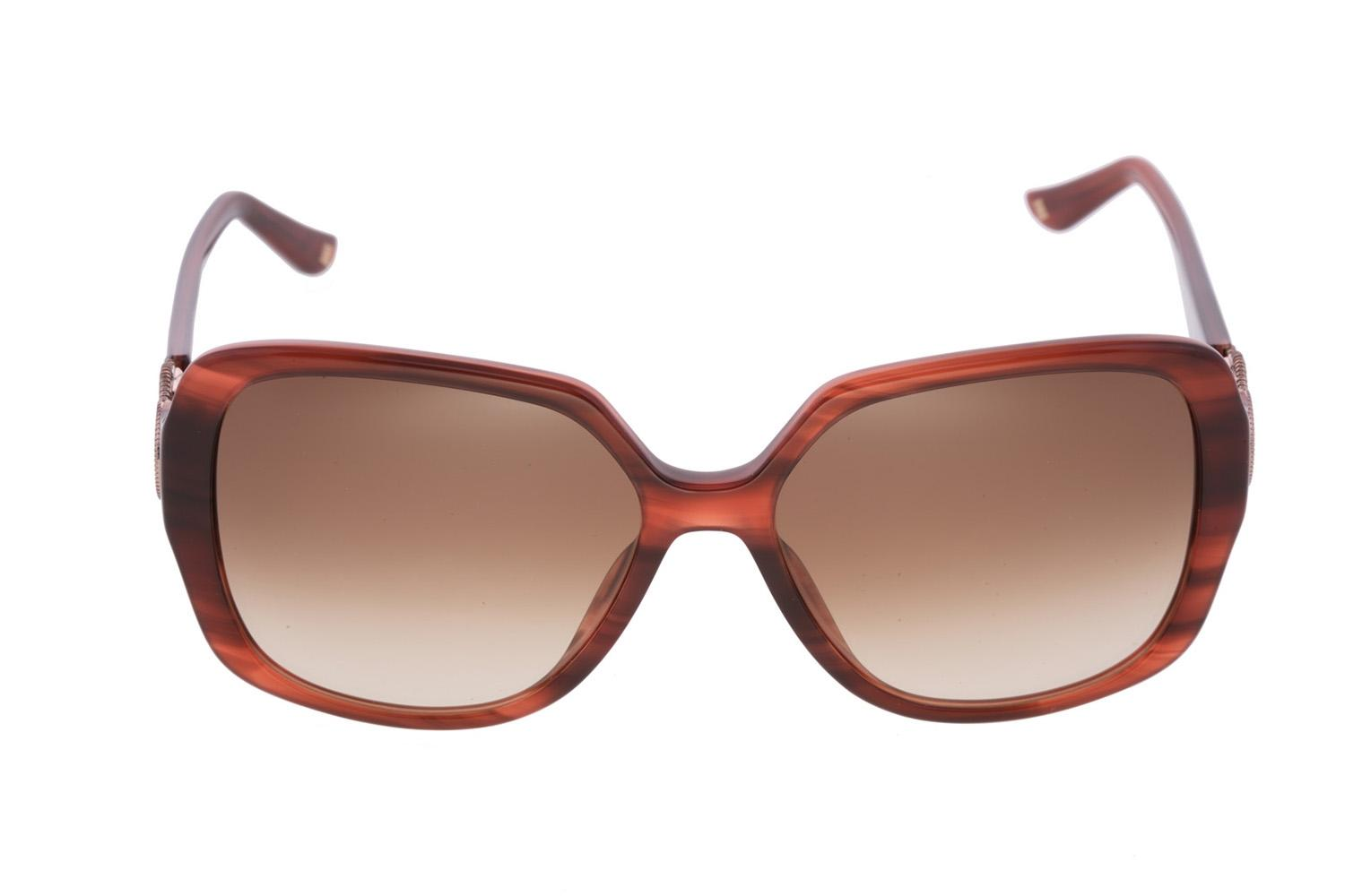 designer sunglasses women ucfr  Escada Brand New ESCADA Women Brown Square Oversized High-Fashion Designer  Sunglasses Italy
