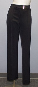 Escada Stretch Knit Creased Front Trouser Hs1765 Pants