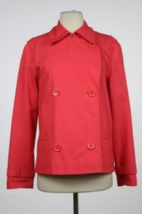 Escada Escada Sport Womens Coral Blazer Casual Cotton Jacket Long Sleeve
