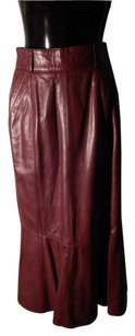 Escada Skirt dark cognac