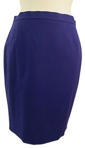 Escada Wool Elastene Skirt PURPLE