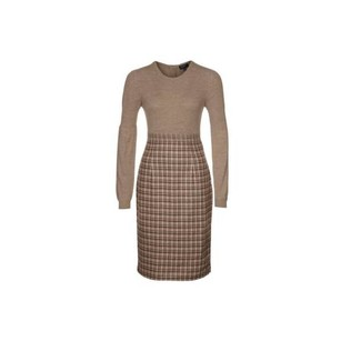 Escada Sport Shiromi Long Sleeve Tweed Dress