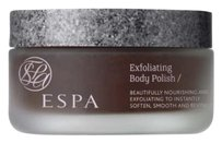 ESPA NEW! Espa EXFOLIATING BODY POLISH : Luxurious, with Aloe, Spearmint & Apricot Kernels: Made in England