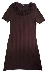 Etcetera short dress Brown Sweater on Tradesy