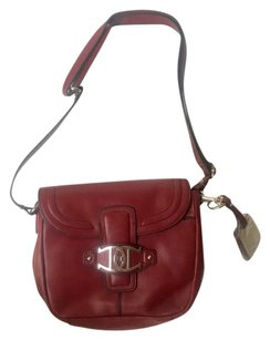 Etienne Aigner Duncan Leather Cross Body Bag