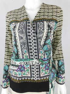Etro Embellished Paisley Top Multicolor