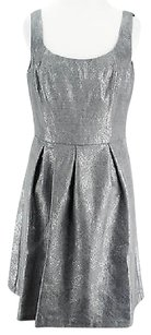 Evan Picone short dress gray Good Womens Polyester Blend Nbw on Tradesy